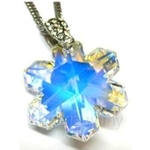 Heavenly Creation Pendant Snowflake Crystal AB - 270P