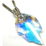 Heavenly Creation Pendant Leaf Crystal AB - 271P