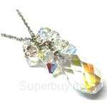 Heavenly Creation Simply Gorgeous Necklace II Crystal AB - 285P