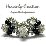 Heavenly Creation Bracelet Circles of Pearls - 205B
