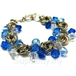 Heavenly Creation Bracelet Knot with Bicone - 093CMB-2