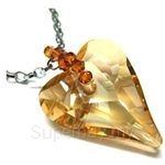 Heavenly Creation Pendant Wild Heart Pendant Golden Shadow - 278P-2