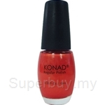 Konad Regular Nail Polish Shining Orange R17 - 000242063041