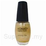 Konad Regular Nail Polish Light Gold R10 - 000242063034
