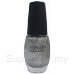 Konad Regular Nail Polish Ice Silver R35 - 000242063059