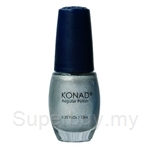 Konad Regular Nail Polish Light Silver R52 - 000242063076