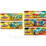 Playdoh Colours Theme Modeling Compound Assortment 4 in 1