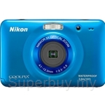 Nikon 10MP Coolpix Compact Digital Camera Water and Dust Proof Double A Batteries - S30