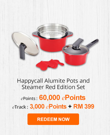 happycall alumite pots and steamer