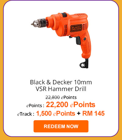 Black & Decker 10mm VSR Hammer Drill