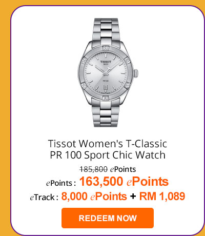 Tissot T101.910.11.031.00 Women's T-Classic PR 100 Sport Chic Watch