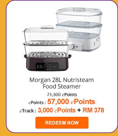 Morgan 28L Nutristeam Food Steamer