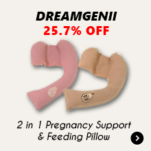 25.7% Off Dreamgenii 2 in 1 Pregnancy Support & Feeding Pillow