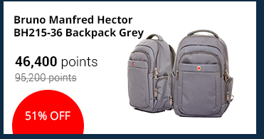 Bruno Manfred Hector BH215-36 Backpack Grey - 17102002153617048
