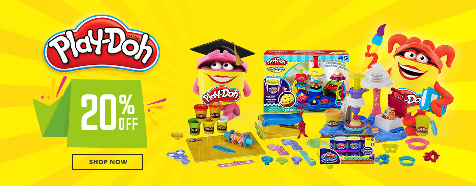 Up to 20% Off Playdoh