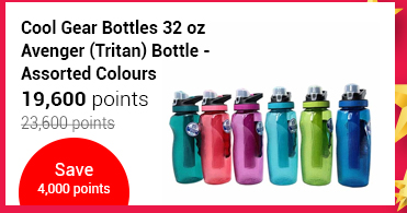 Cool Gear Bottles 32 oz Avenger (Tritan) Bottle - Assorted Colours