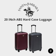 Santa Barbara Polo 20 iNch ABS Hard Case Luggage