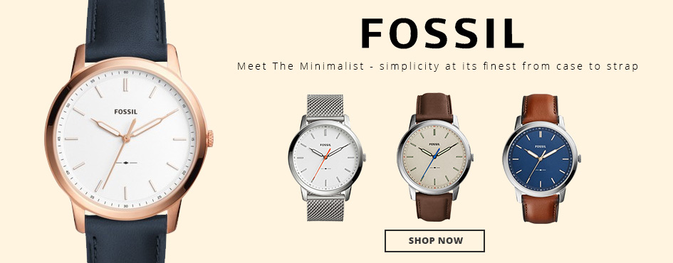 Fossil meet The Minimalist