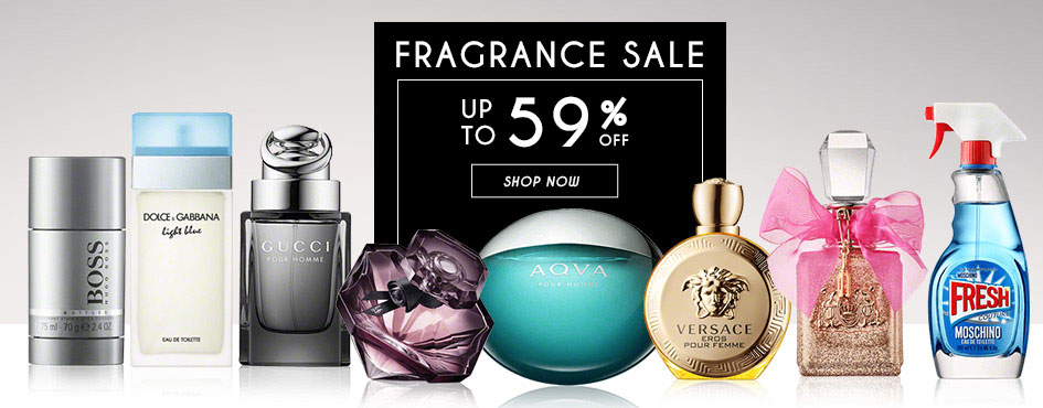 UP TO 59% OFF Fragrance Sale