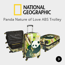 National Geographic Panda Nature of Love ABS Trolley