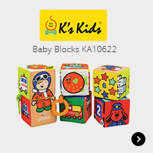 K's Kids Baby Blocks KA10622