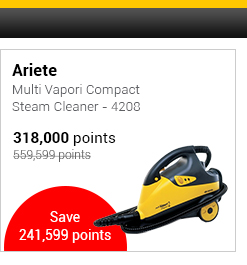 Ariete Multi Vapori Compact Steam Cleaner - 4208
