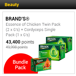 BRAND'S® Essence of Chicken Twin Pack (2 x 6's) + Cordyceps Single Pack (1 x 6's)