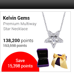Kelvin Gems Premium Multiway Star Necklace