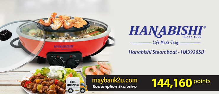 Hanabishi Steamboat - HA3938SB