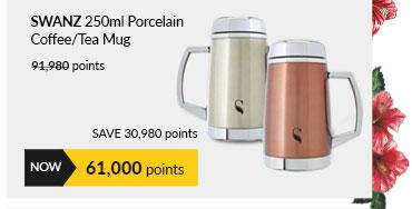 SWANZ 250ml Porcelain Coffee/Tea Mug - SY-015