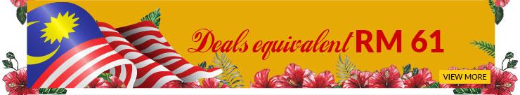 Deals equivalent RM61