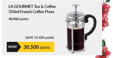 La gourmet Tea & Coffee 350ml French Coffee Press - LGMTNC354242