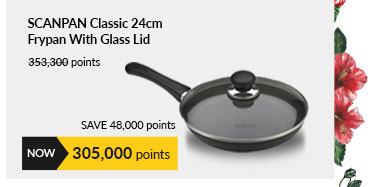 Scanpan Classic 24cm Frypan With Glass Lid (Try Me) - SCP104687