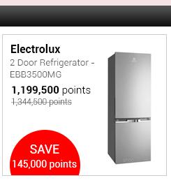 Electrolux 2 Door Refrigerator - EBB3500MG