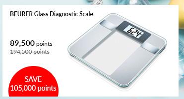 Beurer Glass Diagnostic Scale - BG13