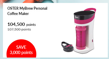 Oster MyBrew Personal Coffee Maker - BVSTMYB PINK