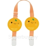 Naforye Bib Clips-Tangerine - 99304