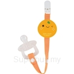 Naforye Baby Pacifier Clip-Tangerine - 99312