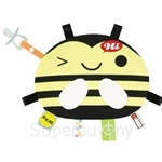 Naforye Labels Cuddle Blanket Bee - 99550