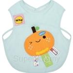 Naforye Funny Label Baby Bib Vest Orange - 99584