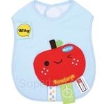 Naforye Funny Label Baby Bib Longer Apple - 99579