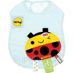 Naforye Funny Label Baby Bib Longer Ladybug - 99580