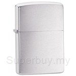 Zippo Brushed Chrome Lighter - 200