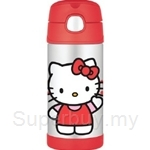 Thermos 0.35L Hello Kitty Ice Cold Straw Bottle - F4012HK