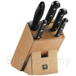 Zwilling J.A. Henckels Twin Gourmet Block 6pcs Set - 31697001