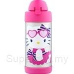 Thermos 0.30L Hello Kitty Flip Top Straw Bottle - F4033HKWC