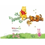 Walplus Winnie Tiger Tree Wall Sticker 50cm x 70cm - AY703