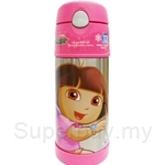 Thermos 0.35L Nick Ice Cold Straw Bottle Dora - F4002DR