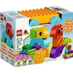 LEGO DUPLO Creative Play Toddler Build and Pull Along - 10554