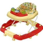 Bubbles 2 in 1 Baby Walker Cosmo Red - BG-1212